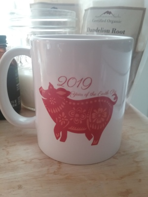 2019 Earth Pig Mug 11oz